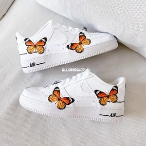 NIKE AIR FORCE 1 low butterfly custom